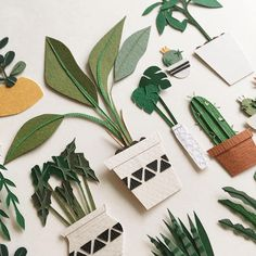 "Tania Lissova | Paperartist on Instagram: ""My own garden 🌿 Do you want the same? —————————— Lissovacraft.etsy.com"""