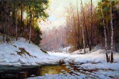лес на картинах художников – 27