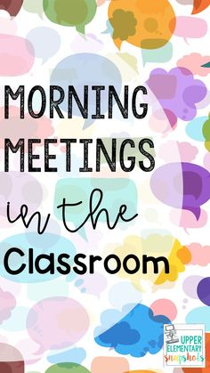 Morning Meetings have so many benefits for elementary classrooms! Find out how I organize and run my Morning Meetings to encourage classroom community and social emotional learning in this post. Morning Meeting Kindergarten, Morning Meeting Activities, Morning Meetings, Back To School Activities, Morning Work, School Ideas, 5th Grade Classroom, Classroom Jobs, Future Classroom