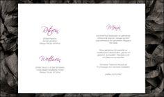 WeddingEve by Hüfner Design Design: Pure Scrpture  Save the Date Karte, Einladungskarte, Menükarte, Tischkarte, Danksagungskarte, Buttons