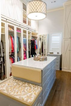 Exquisitely Designed By Closet Factory Houston, This Custom Walk In Closet  Features Maple Diamond Doors Painted Antique White And Glazed In Light Grey  To ...