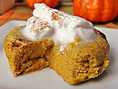 Healthy Pumpkin Pie Custard: Gluten Free & Low Carb by JenTrudel (Can use almond milk or add Protein Powder)