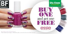 Buy any @essie product and get one free! #DischemBeautyFair