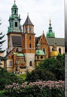 Castillo de Wawel en Cracovia, Polonia