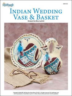 Indian Wedding Vase & Basket