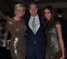 """Katie Dixon, Jeff Moeller, and Brock Maitland from the """"Come Fly With Me"""" CinSation gala Come Fly With Me, Party Pictures, Cultural Events, Culture, Awesome"""