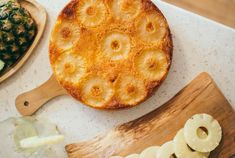 Pineapple Cake, Camembert Cheese, Fruit, Food, Pineapple Cobbler, Essen, Meals, Yemek, Pineapple Pie