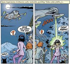 Yoko Tsuno 20: Khanyn salaisuus. #sarjakuva #sarjis #avaruus
