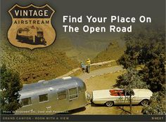 Vintage Airstream: Find Your Place On The Open Road