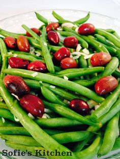 Sofie's Kitchen: Vegan Green Beans with Shallots, Olives and Honey ...
