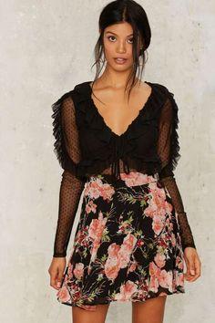 Viv Floral Skirt
