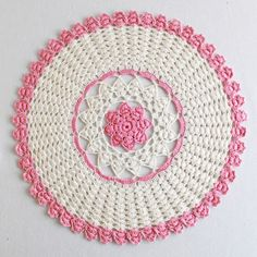 doilies--just think of the hours this must have taken.
