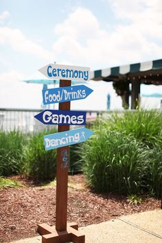 Love the games sign...perfect for our cornhole game
