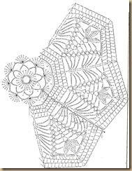 Tischdecke häkeln - crochet doily