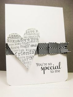 Great pleated ribbon & simple design