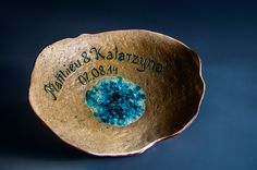 ceramik plate, handmade, wedding gift