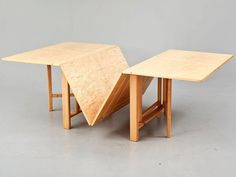Bruno Mathsson - ''Maria Flap'' table,