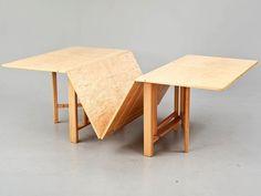 Bruno Mathsson - ''Maria Flap'' table,