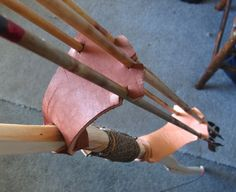 Leather arm thingy & bow quiver