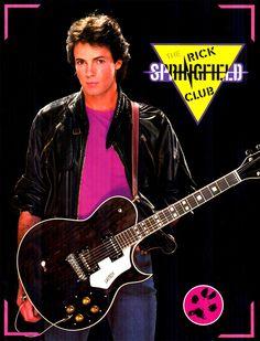 Rick Springfield...2nd crush & 2nd concert.   Ahhh Rick!
