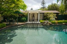 Julia Morgan Bungalow - craftsman - Pool - San Francisco - Dennis Mayer, Photographer