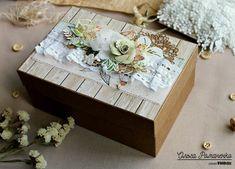 WOOD chic : Декор подарочной коробочки