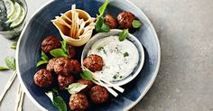 Enjoy the flavours of India with easy-made finger food - ready in just 30 minutes.