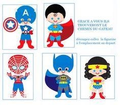 Super héros naïfs... Board For Kids, Diy For Kids, Anniversaire Wonder Woman, Spiderman 4, Hippie Birthday, Vip Kid, Owl Card, Fathers Day Crafts, Pop Art