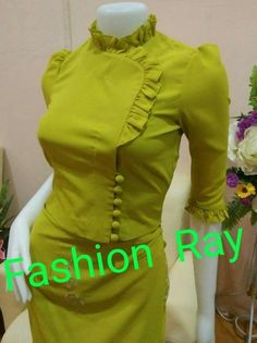Traditional Dresses Designs, Designs For Dresses, Traditional Outfits, Myanmar Traditional Dress, Thai Traditional Dress, Silk Saree Blouse Designs, Kurti Neck Designs, Stylish Tops For Women, Myanmar Dress Design