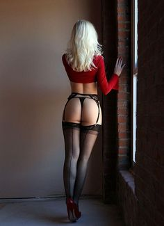 Hot In Stockings : Photo