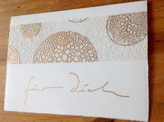 "Stempel ""Blütendolde"", Alexandra Renke, Geburtstagskarte"