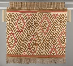 Loincloth Date: 12th–15th century Geography: Peru Culture: Chimú Medium: Cotton, camelid hair