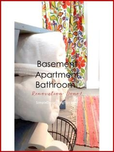 The basement apartment bathroom is totally done being renovated! Small Basement Bathroom, Add A Bathroom, Bathroom Ideas, Bathroom Plumbing, Basement Remodeling, Bathroom Renovations, Home Renovation, Remodeling Ideas, Bathrooms