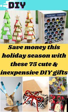 Diy Gifts For Christmas, Inexpensive Christmas Gifts, Holiday Crafts, Christmas Ideas, Christmas Christmas, Diy Gifts For Friends, Diy Gifts For Kids, Diy Crafts For Gifts, Classy Diy Gifts
