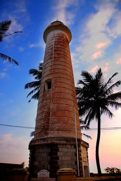 Lighthouse, Galle, Southern Province, Sri Lanka Places Around The World, Travel Around The World, Around The Worlds, Sri Lanka, Beacon Tower, Southern Province, Beacon Of Light, Light Of Life, Winter Travel