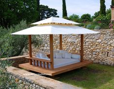 Inspiring Front Yard Design Ideas With Gazebo That Make You Relax 42 Metal Pergola, Wooden Pergola, Pergola Shade, Metal Roof, Pergola Ideas For Patio, Pergola Patio, Canopy Outdoor, Outdoor Decor, Gazebo Canopy