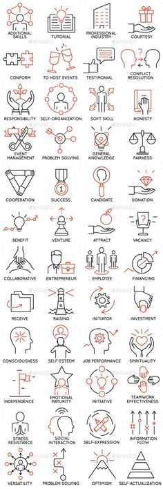 Icons Set of Business Management  part 4  — JPG Image #experience #intelligent • Download ➝ https://graphicriver.net/item/icons-set-of-business-management-part-4/18544733?ref=pxcr