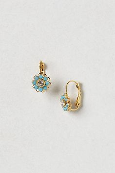 Daisy Drop Earrings #anthropologie  #anthrofave