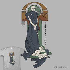 """Rise of the Purebloods    """"Rise of the Purebloods"""" by Karen Hallion aka khallion    Voldemort in an Alphonse Mucha style."""
