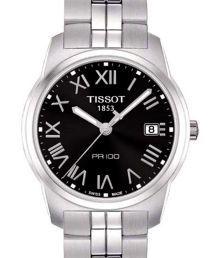 Tissot PR 100 Roman Hour Markers Men's Watch