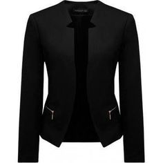 Beautiful black business jacket