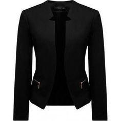 Beautiful black business jacket