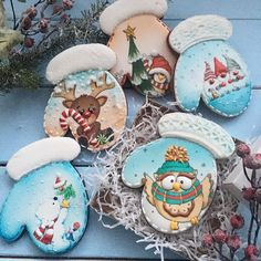 Beautiful cookies.