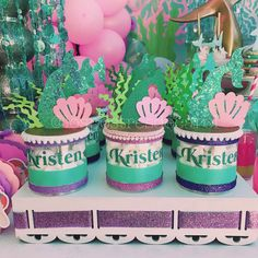 Mermaids Birthday Party Ideas | Photo 1 of 7 | Catch My Party