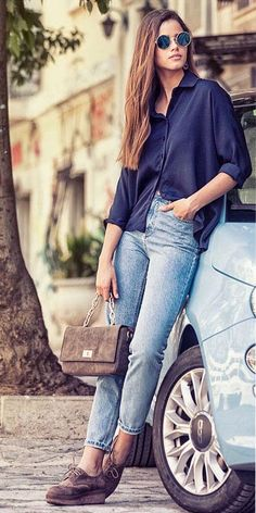b79b7e5981 Casual Friday it is with this total outfit by  MIGATO and mindyourstyle.gr!  Fashion BrandShoes OnlineMom JeansCamelYour ...