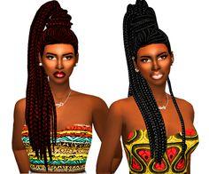 Sims 4 CC's - The Best: Hair by Ebonix