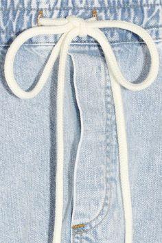 Bassike - Denim Pants - Light denim - x small