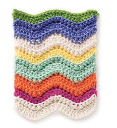 Stitchfinder : Crochet Stitch: Rainbow Chevron : Frequently-Asked Questions (FAQ) about Knitting and Crochet : Lion Brand Yarn