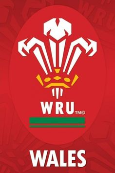 Plakat sportowy Wales R.U Crest wru reprezntacja walli rugby Welsh Rugby Players, Six Nations Rugby, Rugby Union Teams, Union Logo, British And Irish Lions, International Rugby, Wales Rugby, Rugby Men, All Blacks