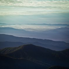 Great Smoky Mountains-How much clearer can it get. You need an escape www.ReaganResorts.com